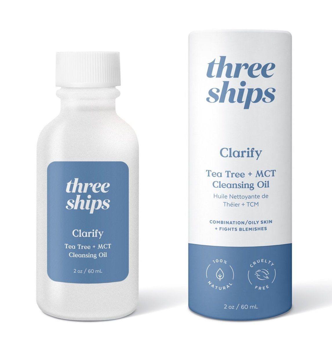 Three Ships Clarify Tea Tree Cleansing Oil