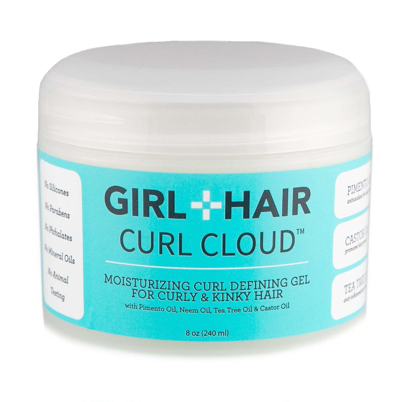 Girl + Hair Curl Cloud Moisturizing Curl Defining Gel for Curly Hair