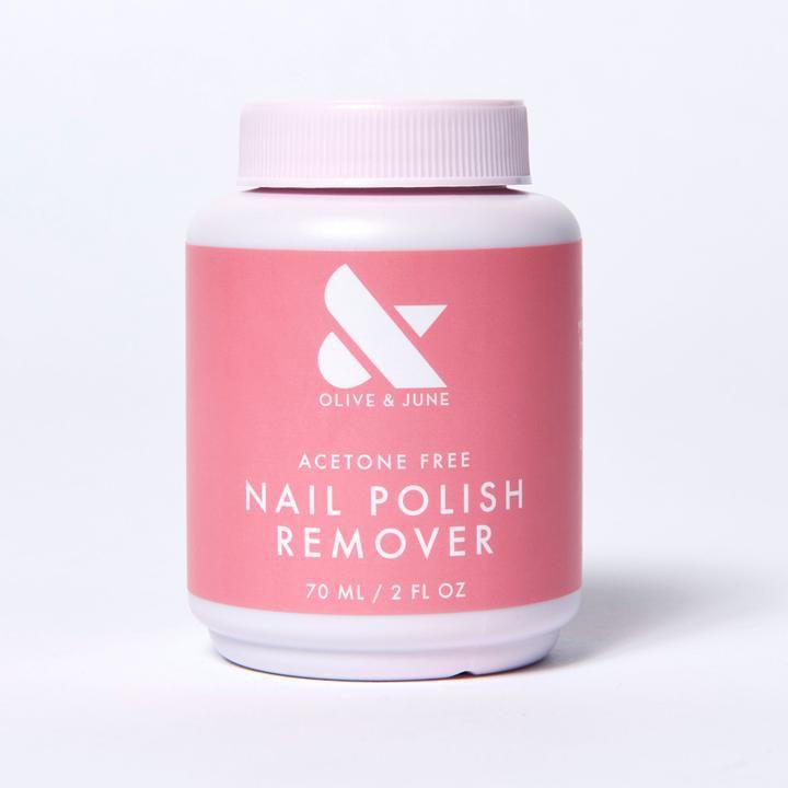 olive and june nail polish remover pot