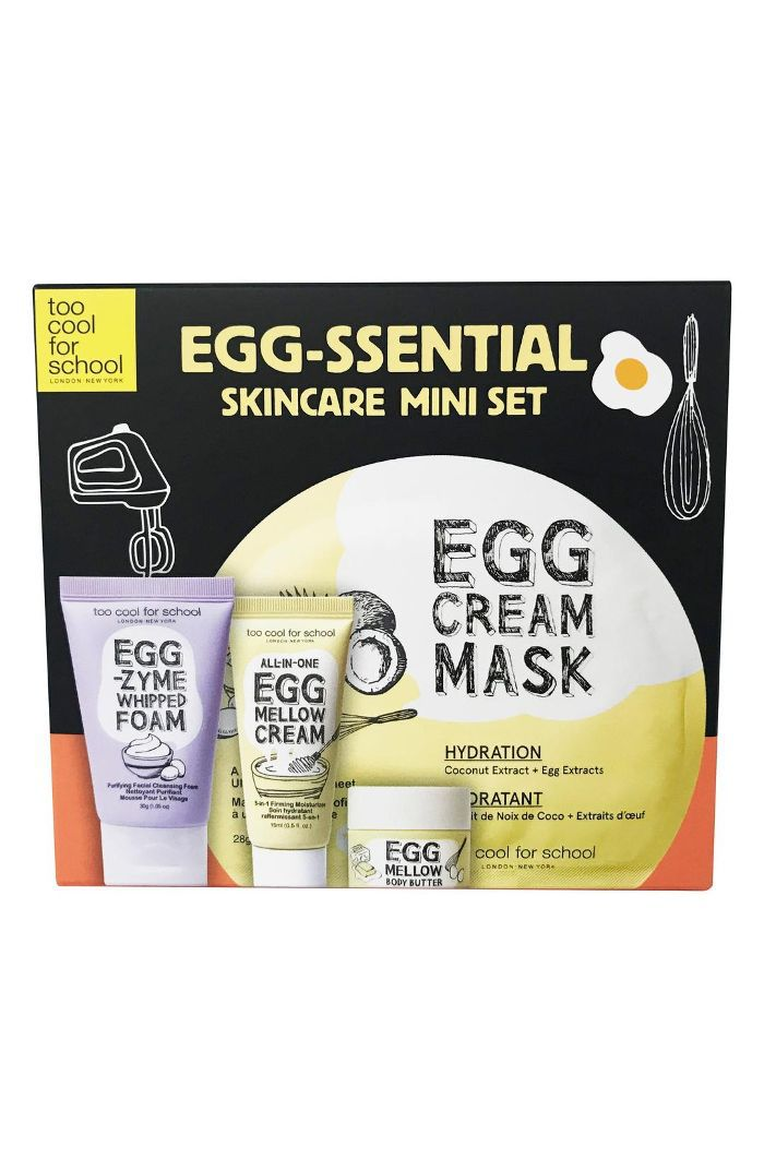 Too Cool for School Egg-ssential Skin Care Mini Set
