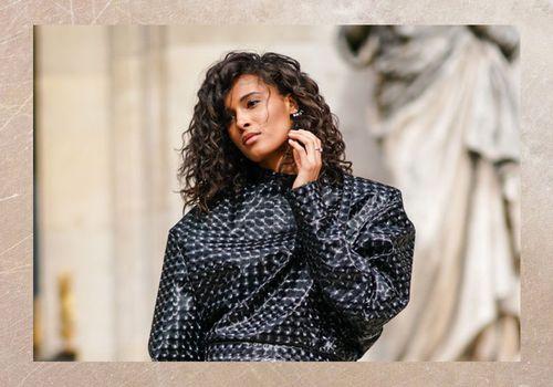 French fashion model Cindy Bruna