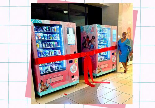 Tress Obsessed Beauty Vending Machines