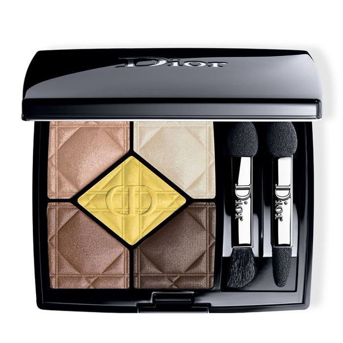 how to wear yellow eyeshadow: Dior 5 Coleurs Eyeshadow Palette in Focus