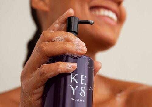 Alicia Keys using Keys Soulcare