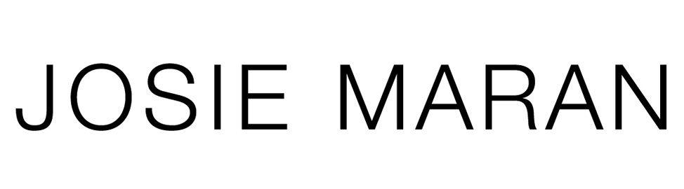 Josie Maran b+w logo