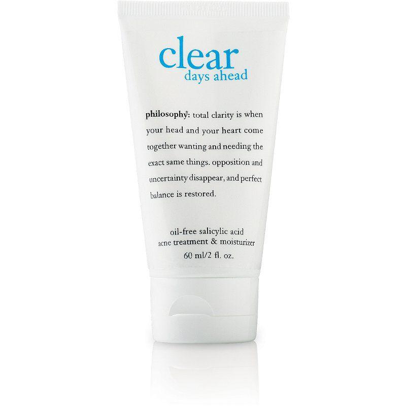 philosophy Clear Days Ahead Oil-Free Salicylic Acid Acne Treatment & Moisturizer