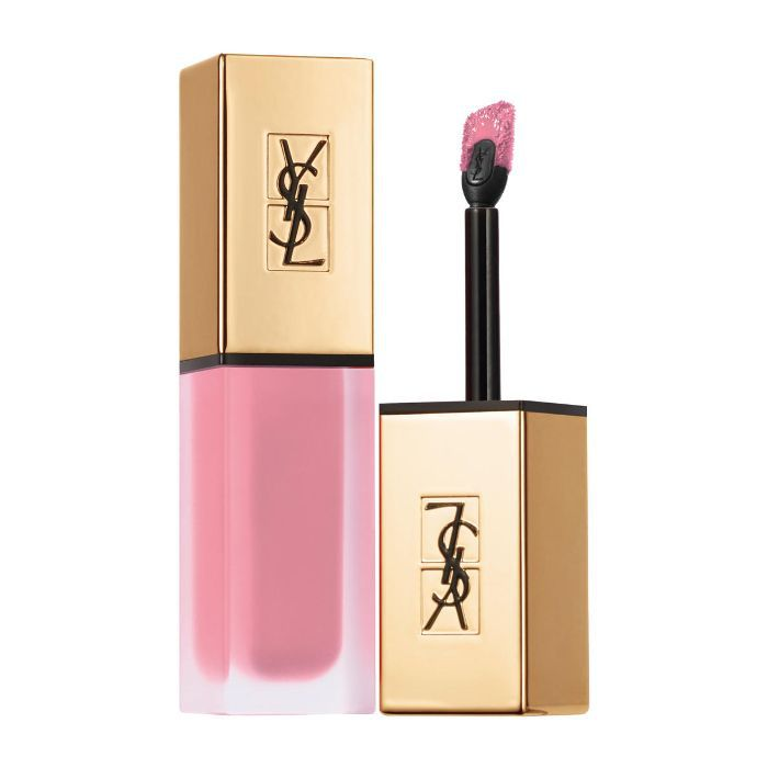 best pink lipstick: YSL Beauty Tatouage Couture Liquid Lipstick in Rose Illicite