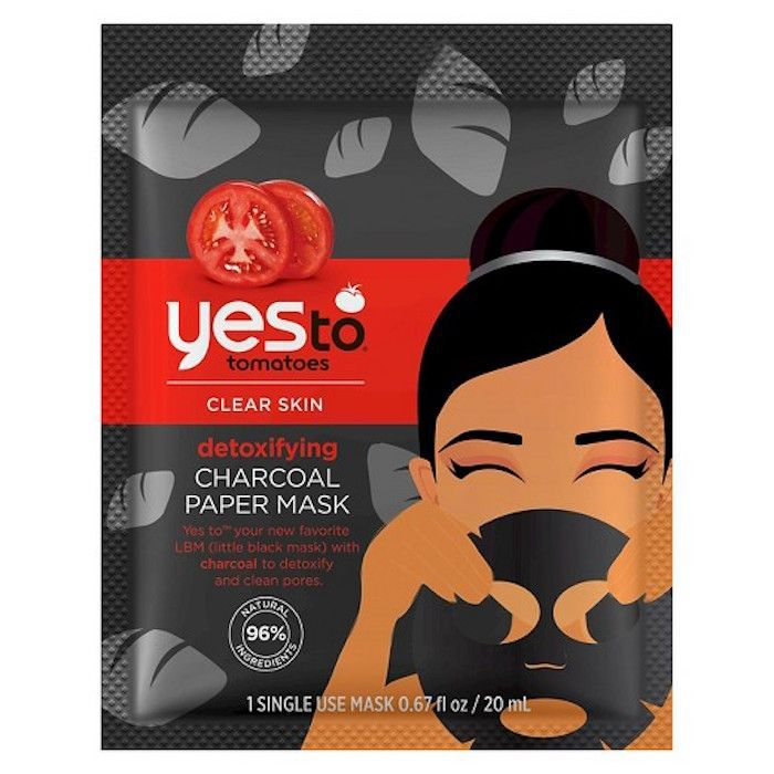 Yes To Tomatoes Charcoal Detoxifying Paper Mask