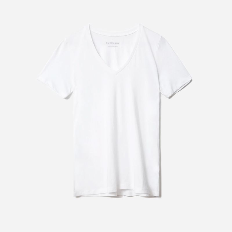 The Organic Cotton V-Neck