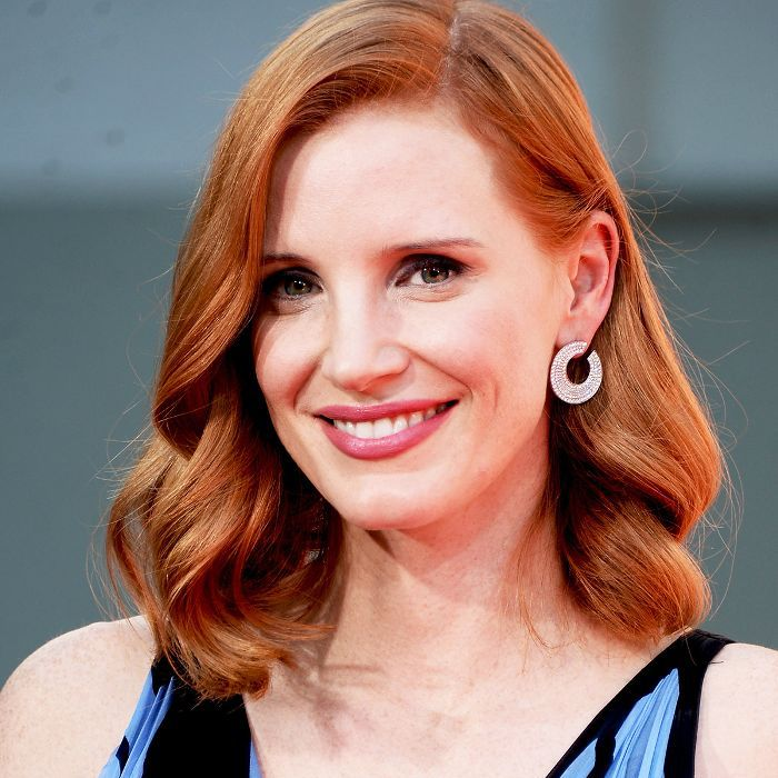Copper Hair Colors - Jessica Chastain