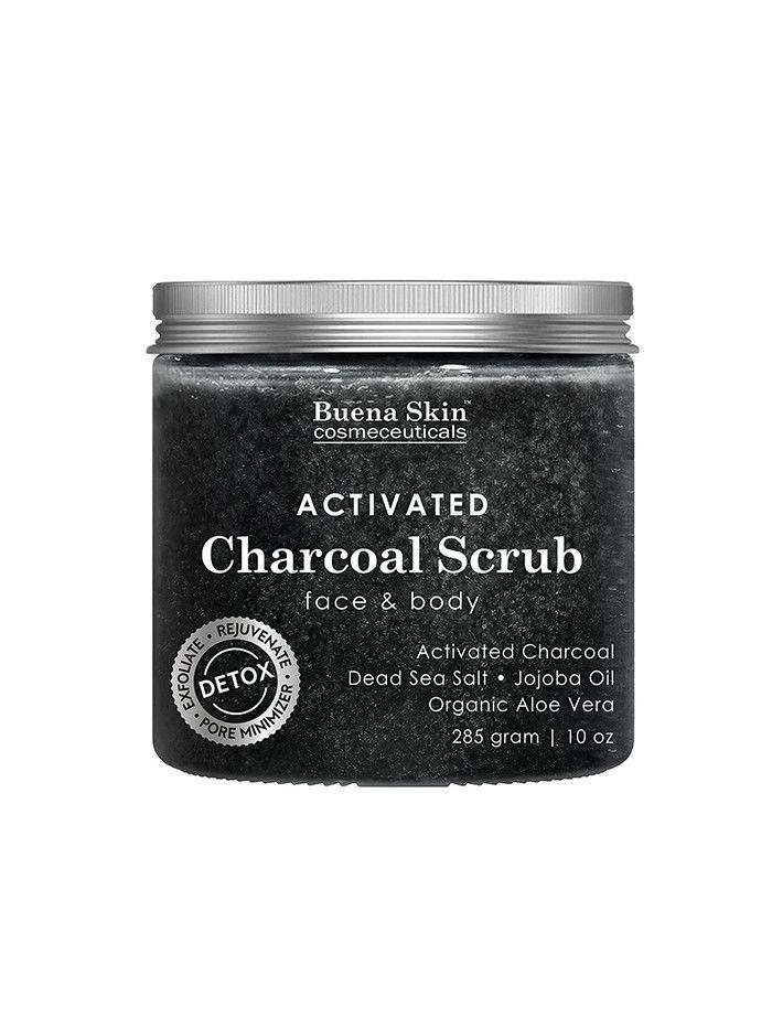 Buena Skin Activated Charcoal Scrub