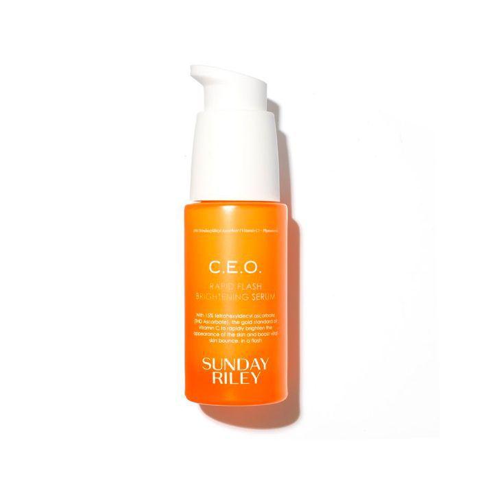 best brightening serum: Sunday Riley C.E.O. Rapid Flash Brightening Serum