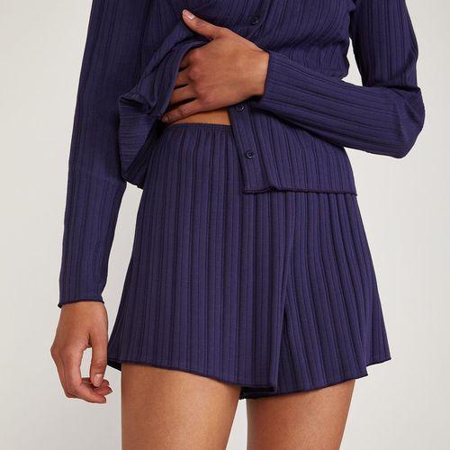 OOO Stretch Organic Cotton Rib Shorts ($58)