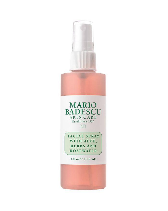 Facial Spray with Aloe, Herbs & Rosewater 4 oz.