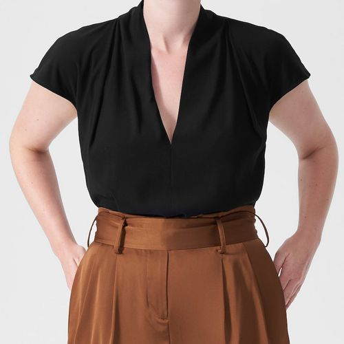 Universal Standard Cambria Luxe Twill Top