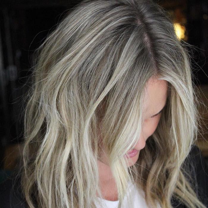 Mushroom Blonde Is The New Platinum Blonde According To