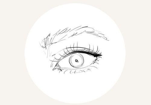 illustration on the eye