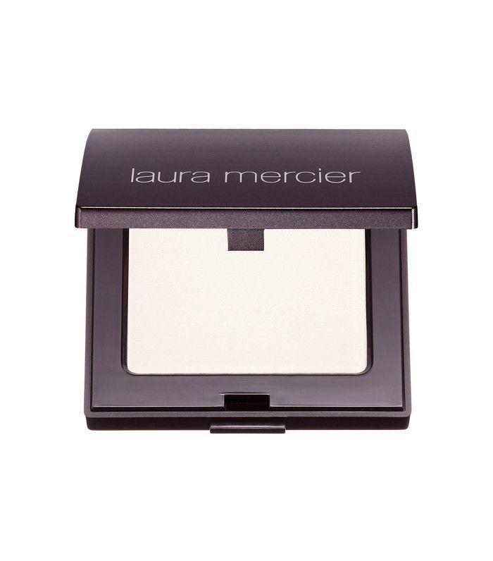 How to apply lipstick: Laura Mercier Pressed Setting Powder