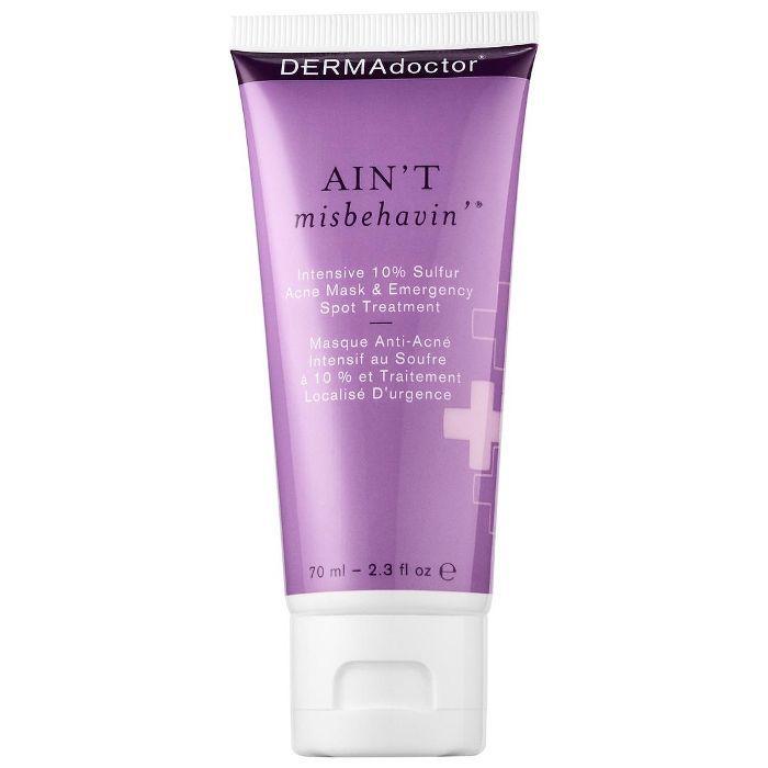 Ain't Misbehavin'(R) Intensive 10% Sulfur Acne Mask & Emergency Spot Treatment 2.3 oz