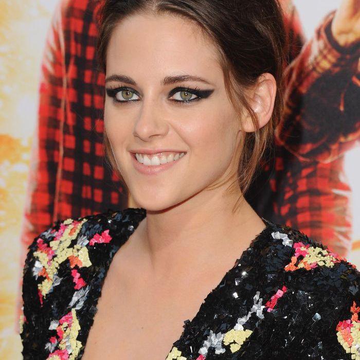 Kristen Stewart - Winged Eyeliner