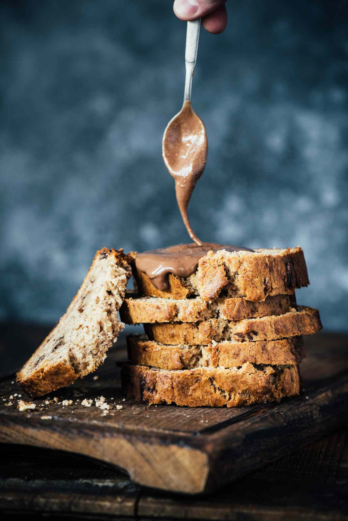 toast with nut butter