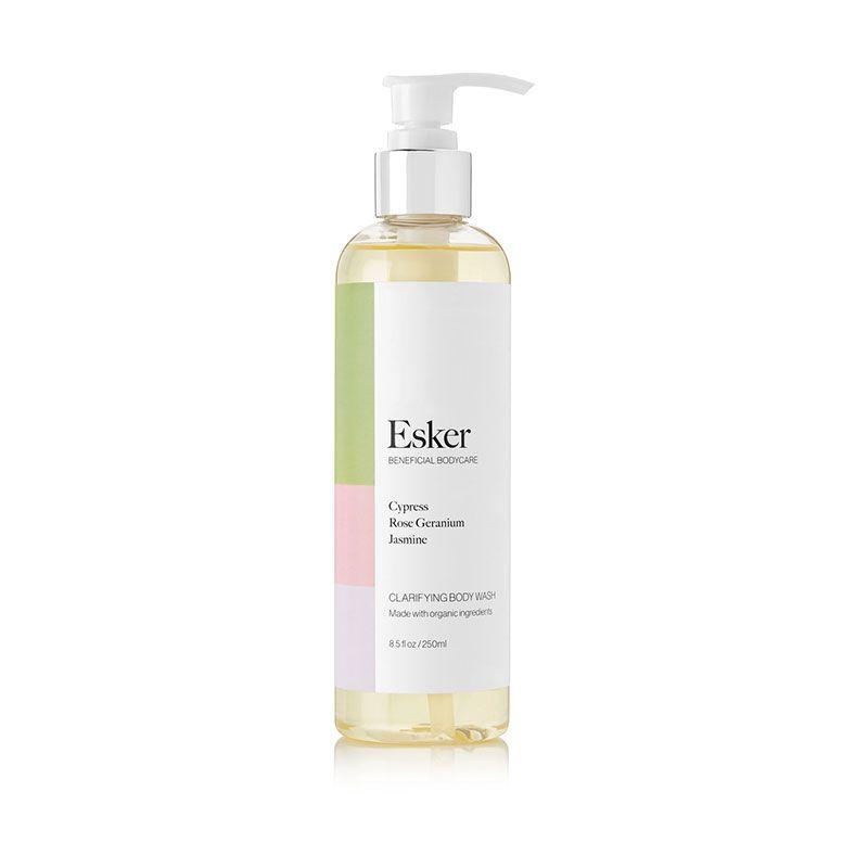 esker clarifying body wash