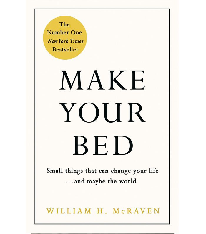 wellness books worth reading: William H. McCraven Make Your Bed
