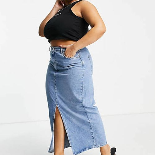 ASOS Design Denim '90s Maxi Skirt