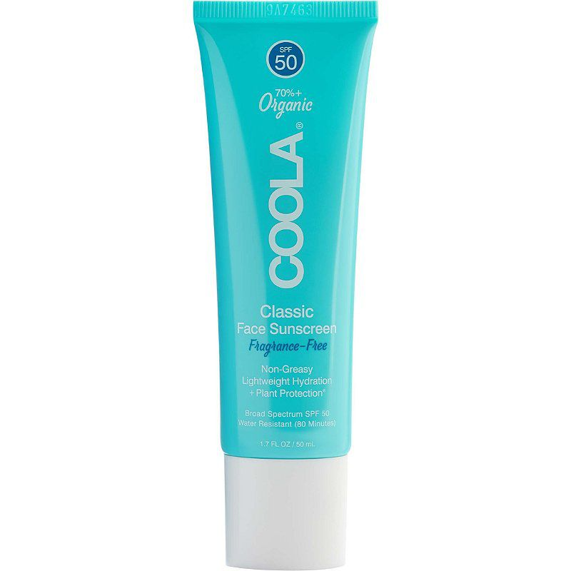 Coola Classic Face Organic Sunscreen Lotion SPF 50