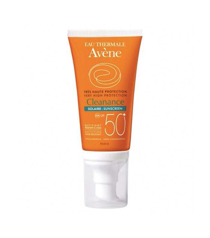 Best sunscreen for face: Eau Thermale Avène Cleanance Sunscreen SPF50+