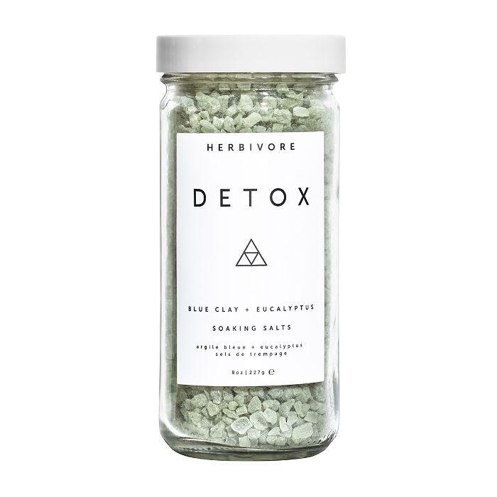 Herbivore review: Detox Blue Clay + Eucalyptus Soaking Salts