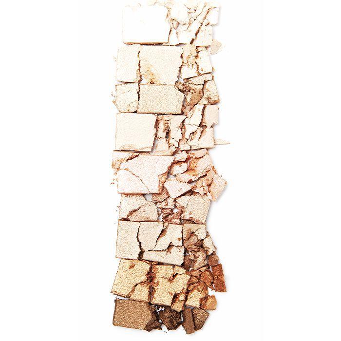 Broken neutral colored makeup palette