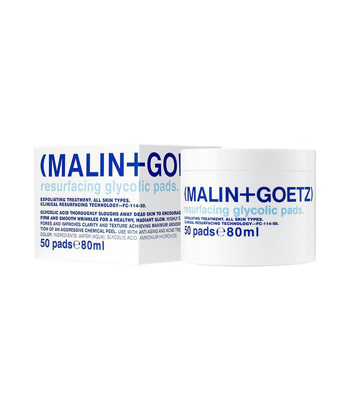 Space. nk. apothecary Malin + Goetz Resurfacing Glycolic Acid Pads