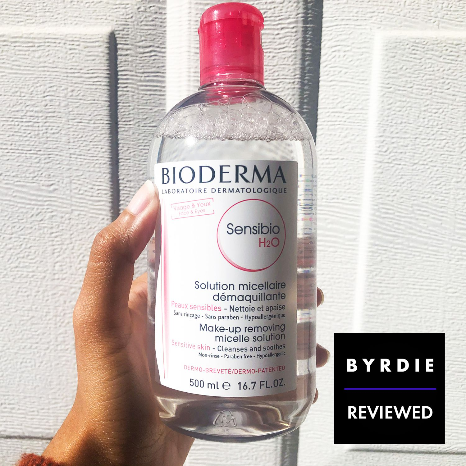 I Tried Bioderma S Micellar Water And