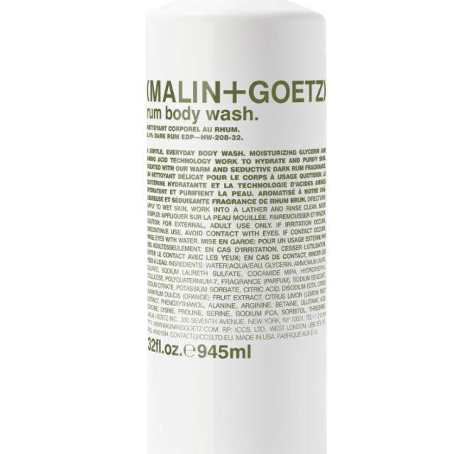 Malin+Goetz Jumbo Rum Body Wash