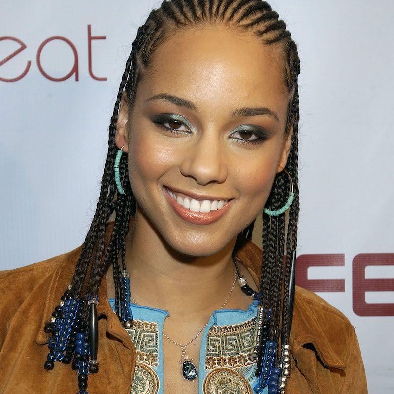 Cornrow Hairstyles Beaded Alicia Keys