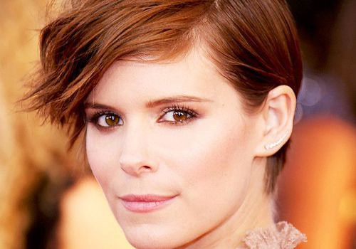 Kate Mara brunette hair color
