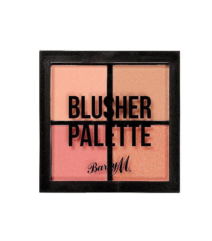 Best drugstore blush: Barry M Blusher Quad Palette