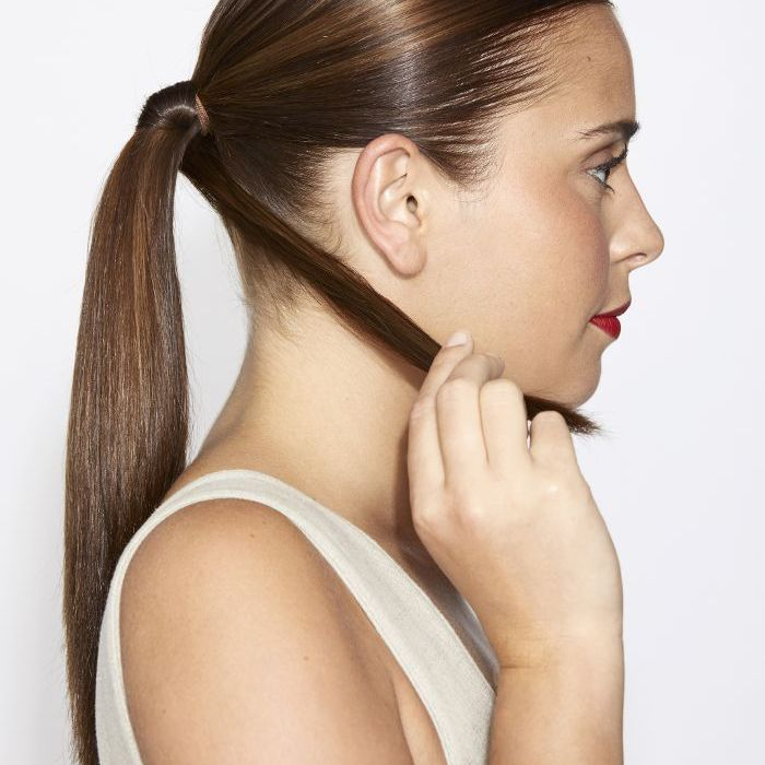 How to Perfect Low Bun Step Two