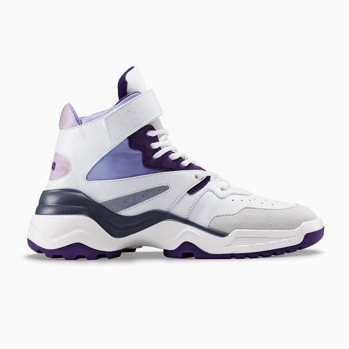 Koio Aerobics Royal Retro Leather Sneaker