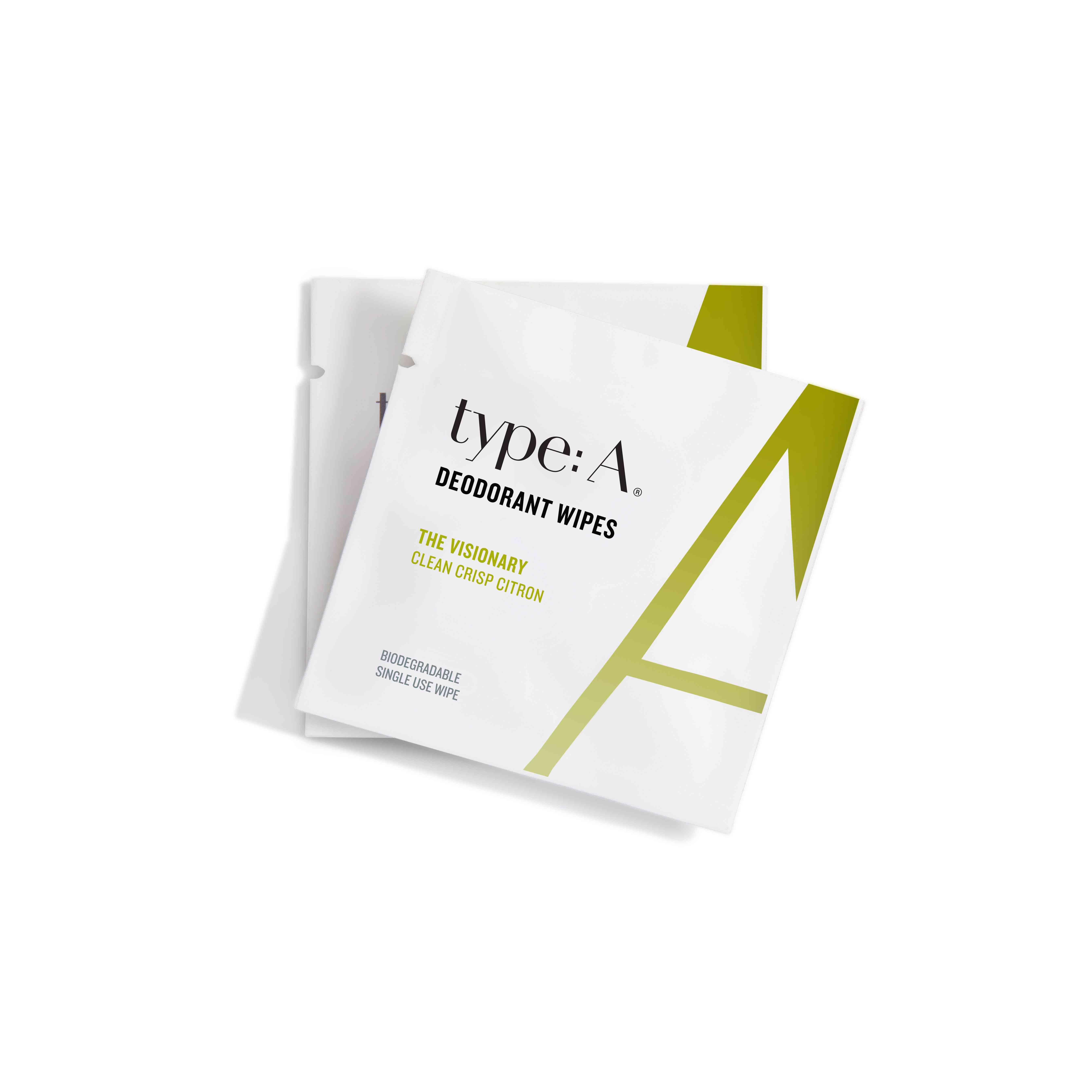 Type: A Deodorant Wipes