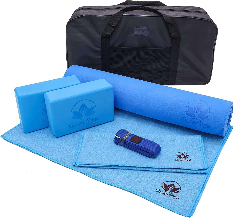 Clever Yoga 7-Piece Starter Kit
