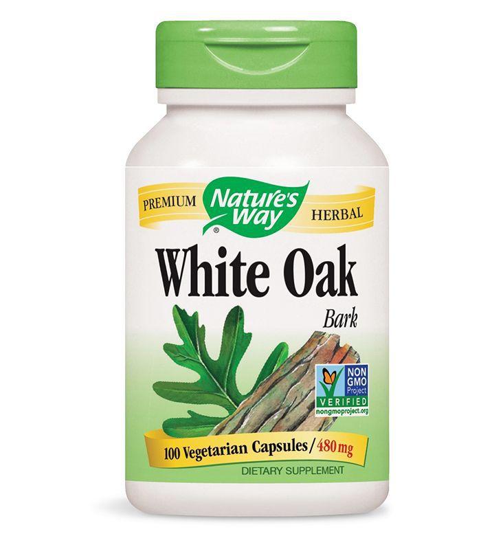 Period pain: Nature's Way White Oak Bark Capsules