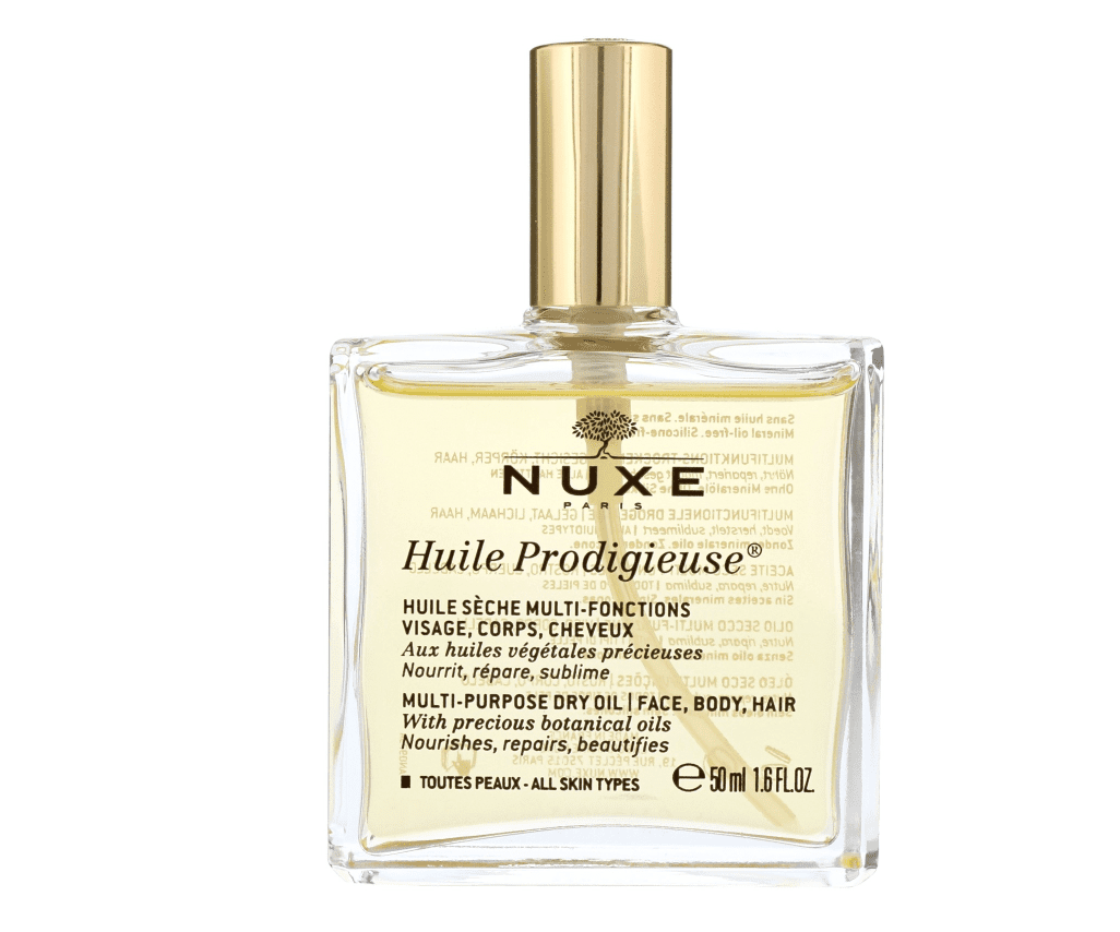 Nuxe dry hair oil