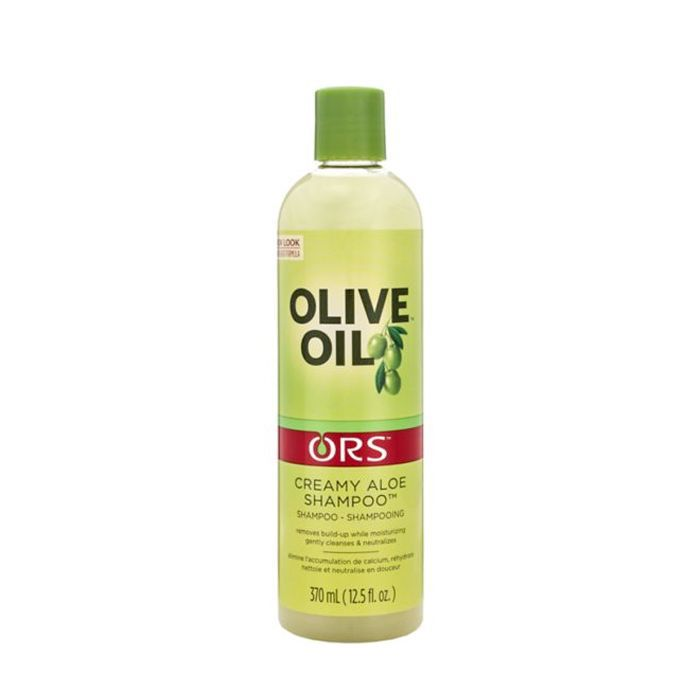 blonde kinky curly hair tips: ORS Moisture Restore Creamy Aloe Shampoo