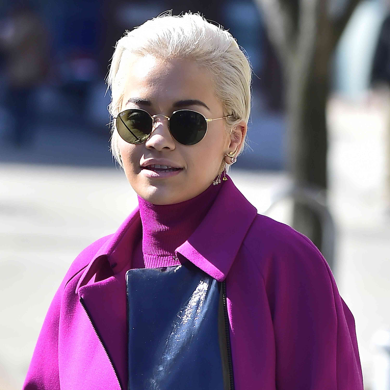 Rita Ora - Long Pixie Cut