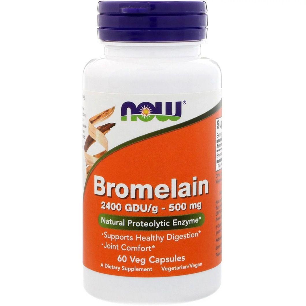 Now foods bromelain dietary supplement
