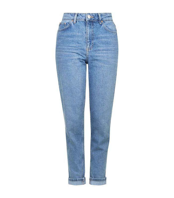 Light Denim Mom Jeans