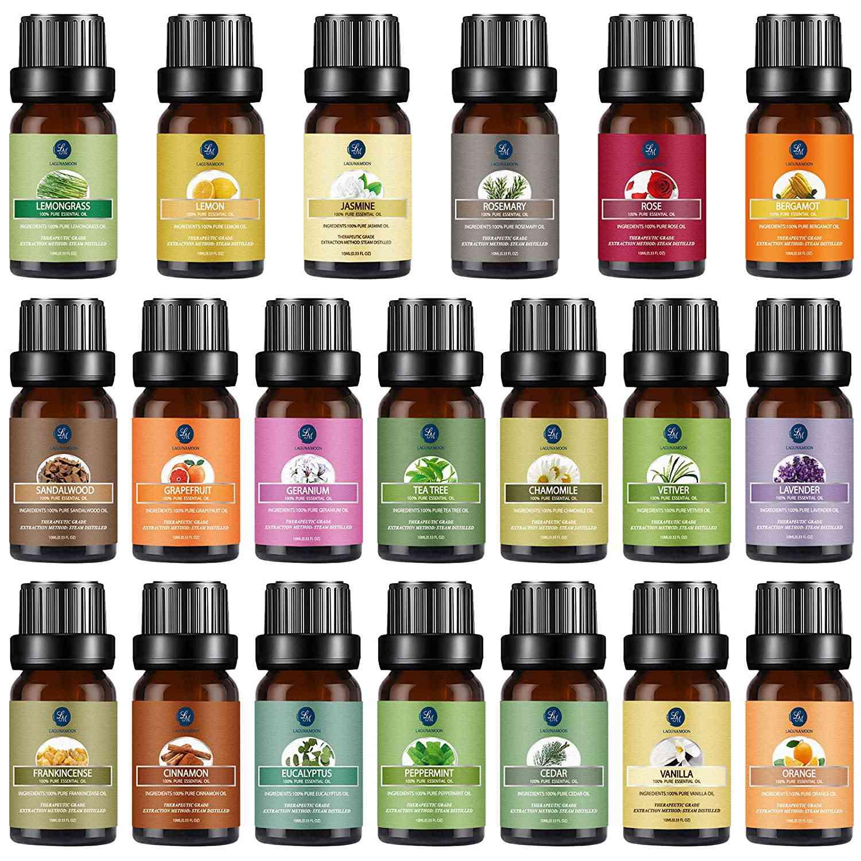 Lagunamoon Premium Essential Oils Set