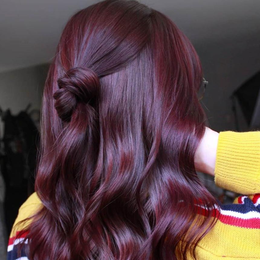 Hair Color Inspiration 25 Plum Hair Color Photos